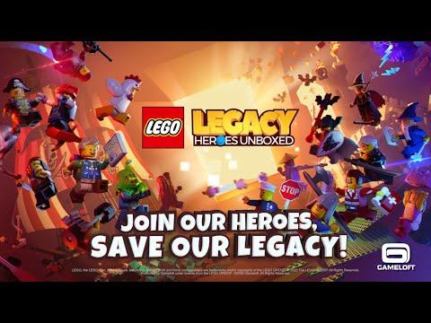 Lego Legacy - Google Play Trailer