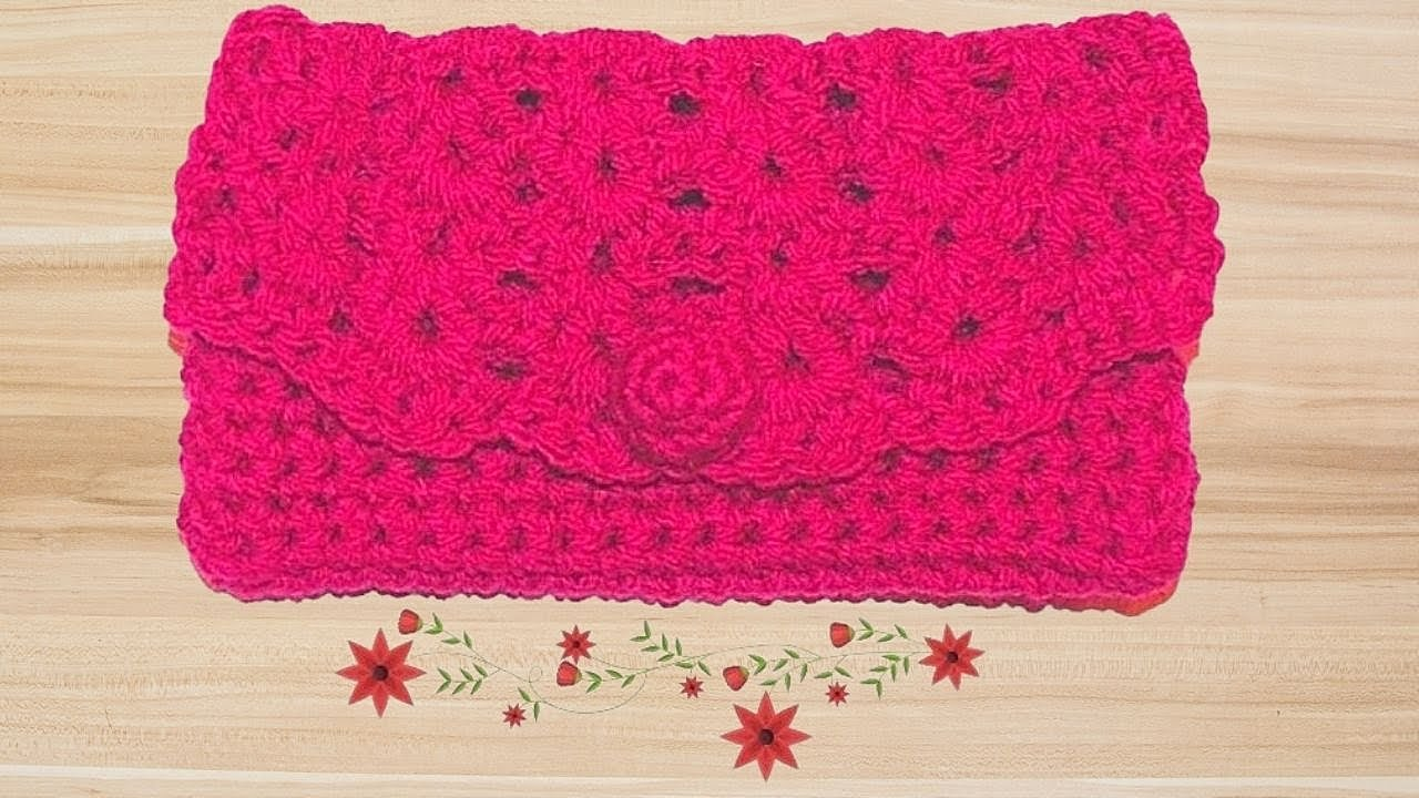 How to crochet a clutch purse tutorial crochet jewel youtube bankloansurffo Gallery