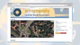 """Welche Stadt passt zu mir?"" Astrologische Geomantie / astrogeography.com"