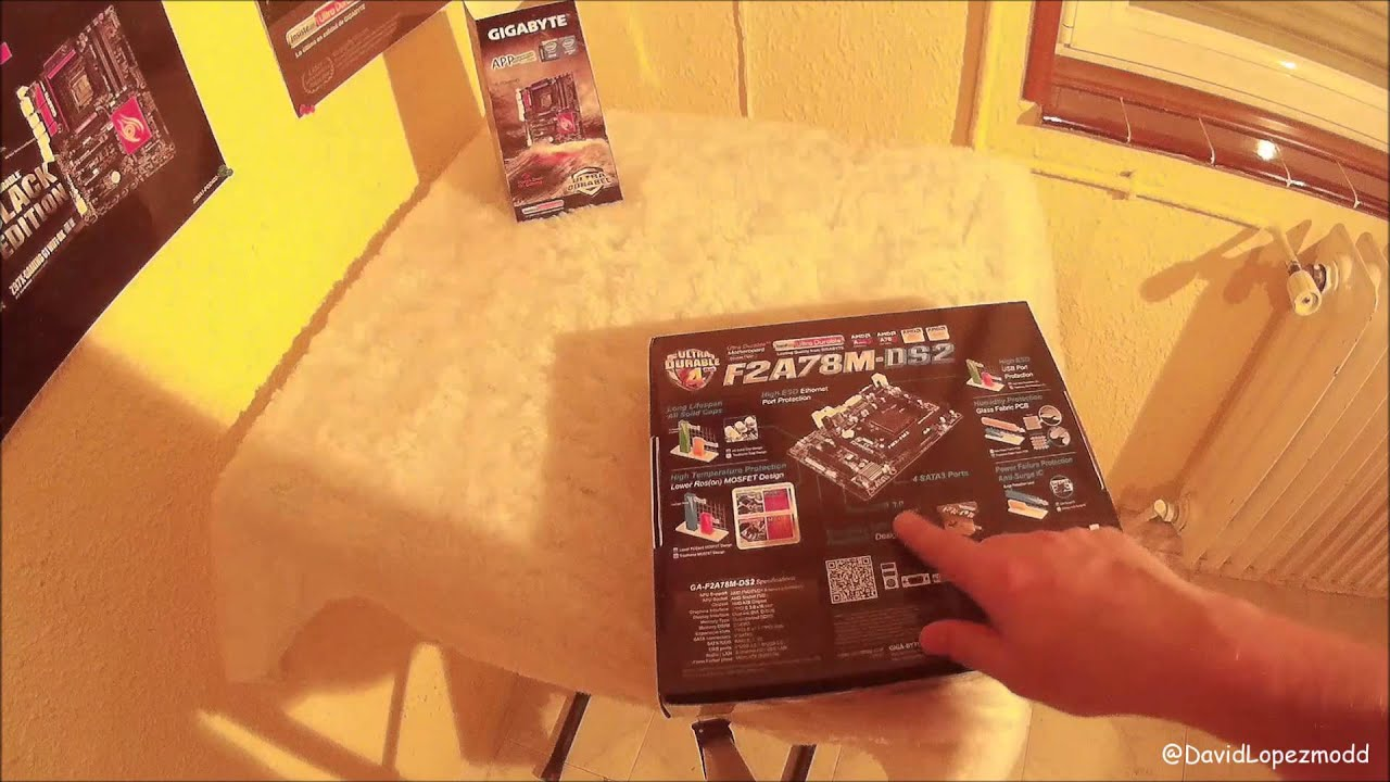 Unboxing Gigabyte F2A78M-DS2