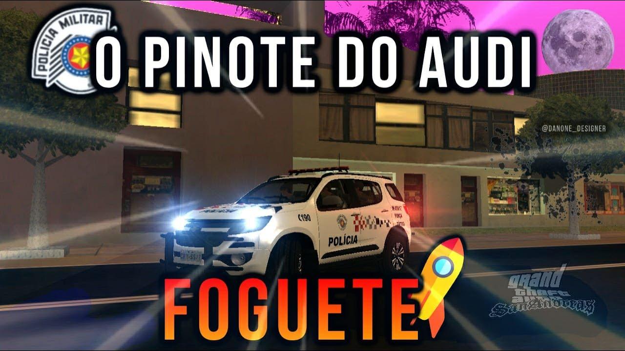 GTA MTA RP | EIS QUE UM FOGUETE TENTA PINOTE DO TÁTICO ft.SEGUNDAFASE | BVO