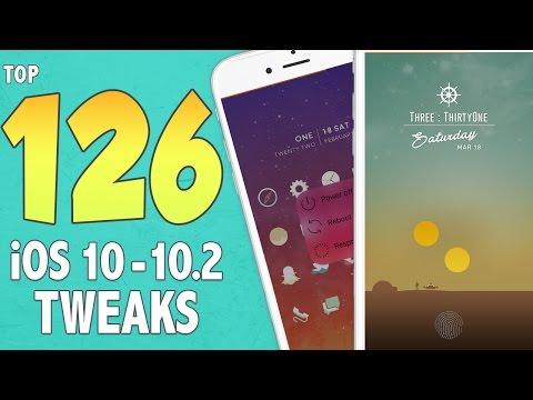 Top 126 BEST iOS 10 - 10.2 Jailbreak Tweaks! | Best iOS 10 - 10.2 Cydia Jailbreak Tweaks #1-4