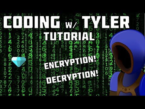 BASIC ENCRYPTION AND DECRYPTION! :: Python Coding Tutorials :: 6