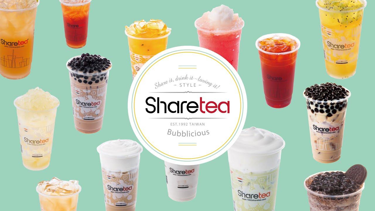 2016 Sharetea Signature Drinks & New Snacks - YouTube