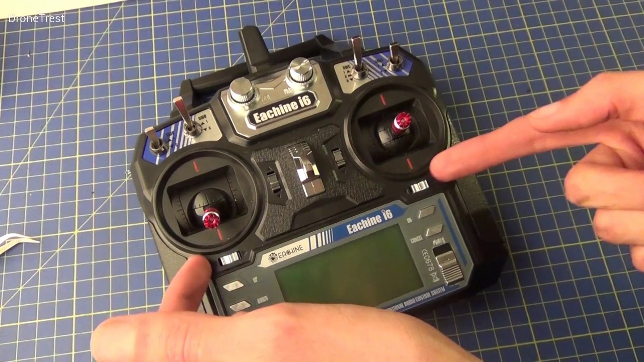 Binding And Setting Up The Flysky I6 Transmitter For A Quadcopter Viper Auto Start Wiring Diagram Drone Youtube
