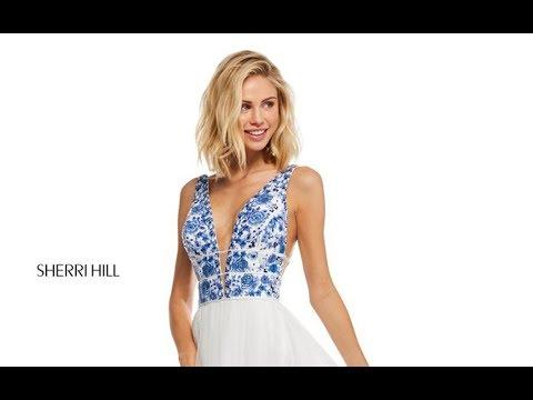 2d758e2ff01 Sherri Hill 52672 Prom Dress - YouTube