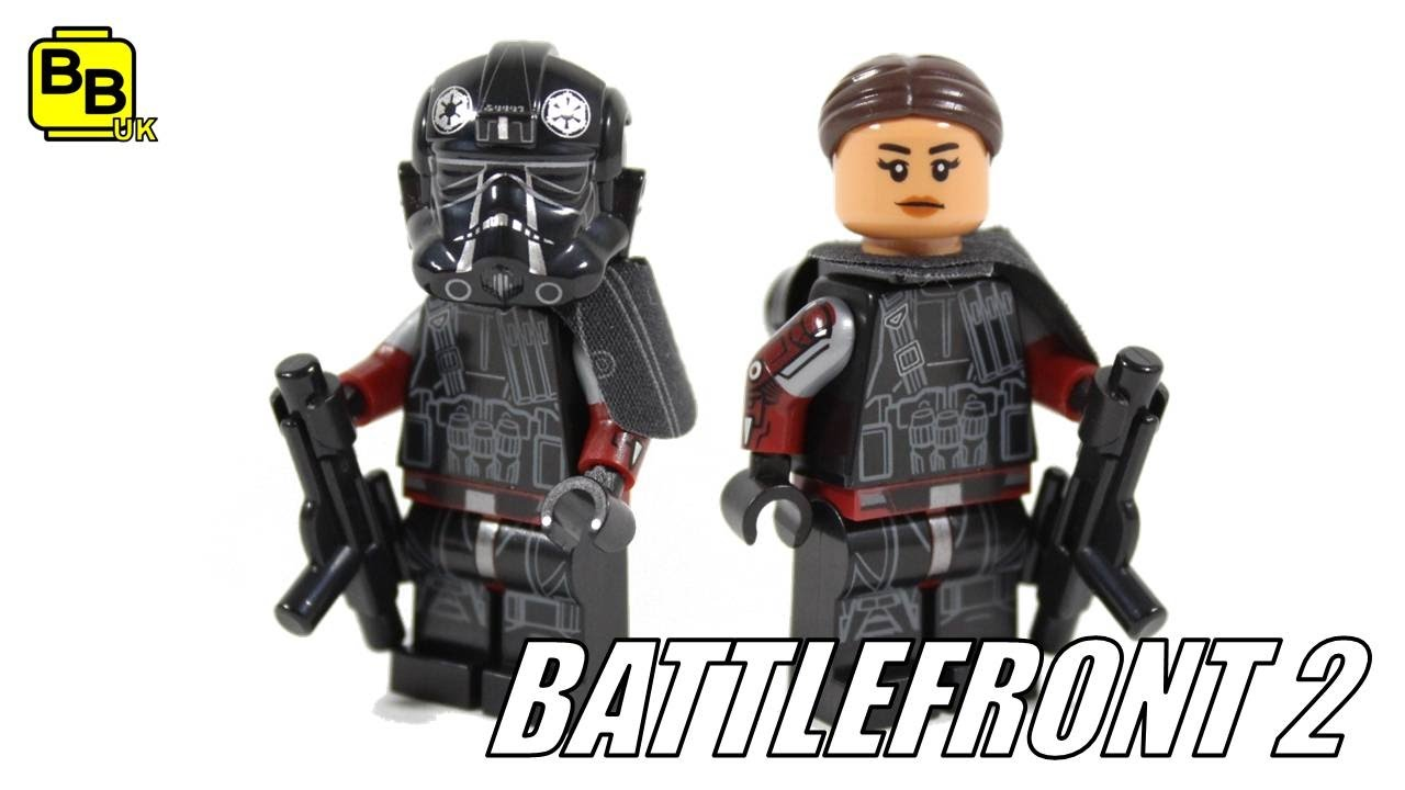 Lego Star Wars Inferno Squad Iden Versio Minifigure Creation Youtube