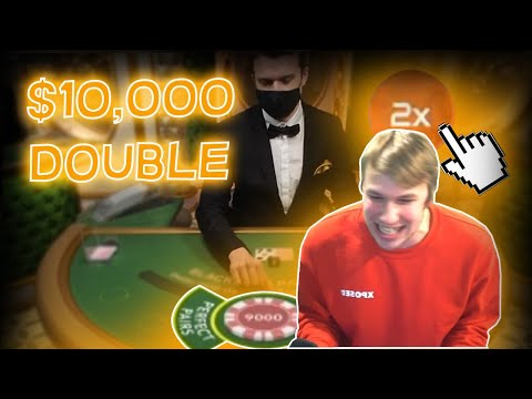 $10,000 DOUBLE DOWN WITH LIVE DEALER!