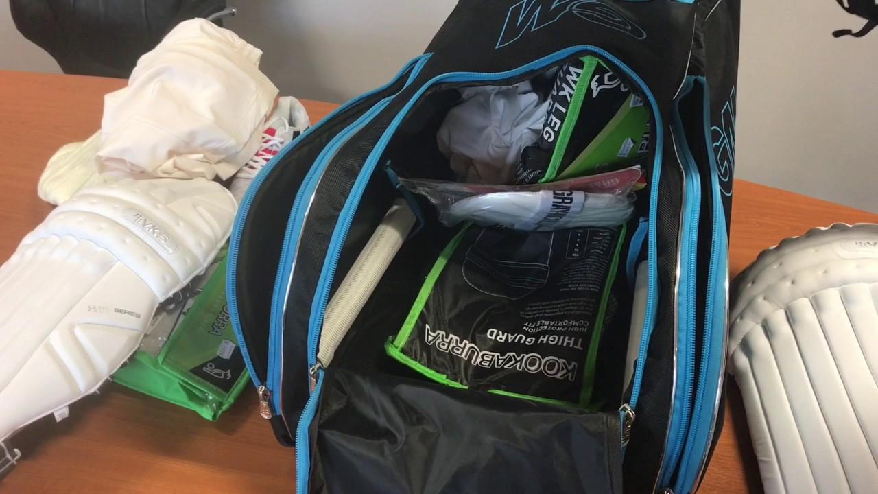 6a10e1fa1ab Gunn   Moore Original Wheelie Duffle Bag Video Review - YouTube