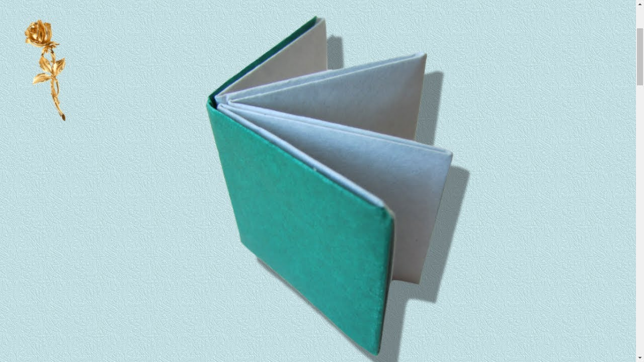 Origami Livre Transformable En Boite