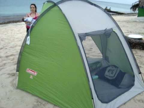 Coleman Beach Tent sand shade : collapsible beach tent - memphite.com