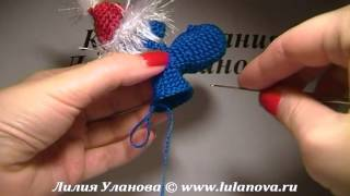 Дракоша -  вязание крючком игрушек