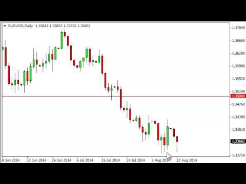 EUR/USD Technical Analysis for August 13, 2014 by FXEmpire.com