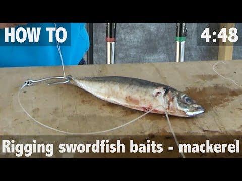 HOW TO DEEP DROP FOR SWORDFISH - MACKEREL RIG