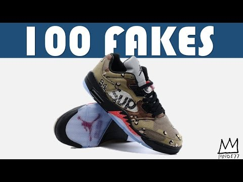 100 FAKE SNEAKERS - OH THE FU**ERY!!