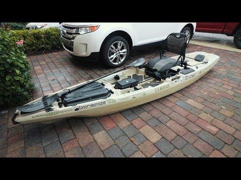 Bonafide Kayak SS127 Walk Through (Best Fishing Kayak)