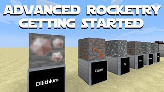 Minecraft Advanced Rocketry Tutorial Part 1 - Getting Started. An Advanced Rocketry Mod Spotlight