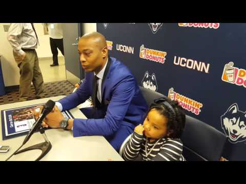 Caron Butler Press Conference, Huskies of Honor, 2/13/16