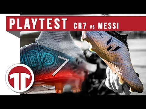 Nike Mercurial Superfly V CR7 vs.  adidas Messi 16+ Pureagility FG Gold