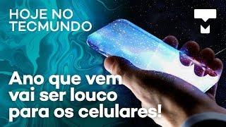 Falha de segurança no S10, smartphones futuristas em 2020, vazamentos da Motorola – Hoje no TecMundo
