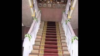 Оформление банкетного зала . Свадебный салон «Невеста»   г. Волжский