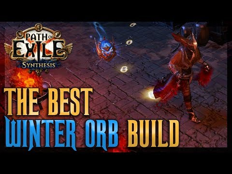 the best winter orb build explained trickster chaos. Black Bedroom Furniture Sets. Home Design Ideas