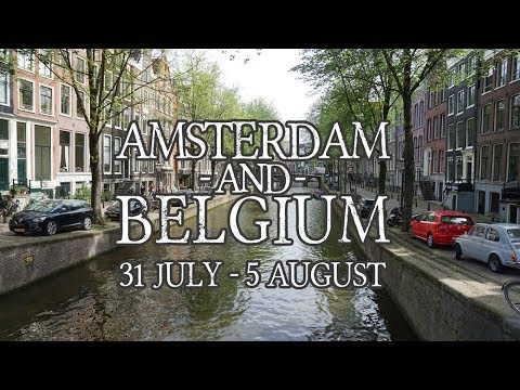 AMSTERDAM & BELGIUM | Our Honeymoon Trip, Part I
