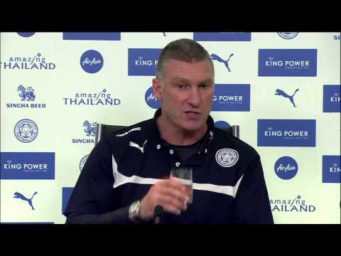 Leicester boss Nigel Pearson swears at journalist after Hull draw