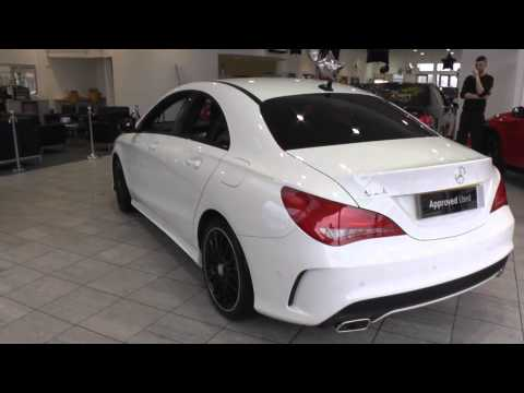 mercedes benz cla class cla 180 sport 4dr tip auto map pilot u40303 youtube. Black Bedroom Furniture Sets. Home Design Ideas