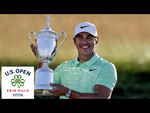 Brooks Koepka win the 2017 U.S. Open: Final Round Highlights