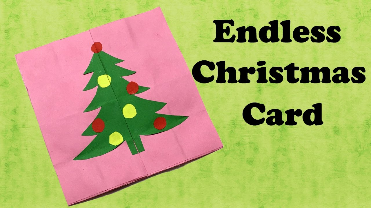 Endless christmas card christmas greetings never ending card endless christmas card christmas greetings never ending card greeting cards endless love youtube m4hsunfo