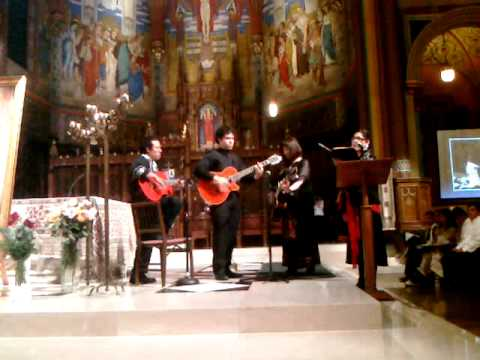 Juan Diego, Performance at the Cathedral of the Madeleine