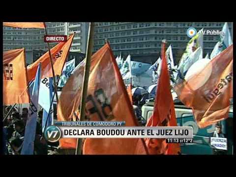 Visión 7 - Causa Ciccone: Boudou declara ante el juez Lijo (3)