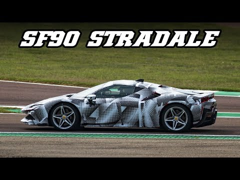 Listen to the new Ferrari SF90 Stradale Hybrid Lay Down Some Hot Laps