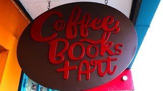 Coffee Books & Art In Barrio Escalante, Costa Rica - Awesome Coffee Shop!