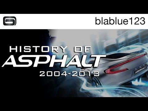 History Of - Asphalt (2004-2013) | Blablue123