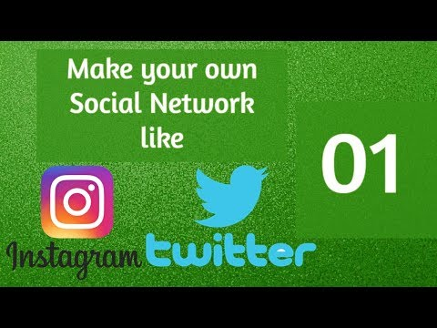 PHP Social Network Project - Social Network In PHP & Mysqli - New Social Network - 01