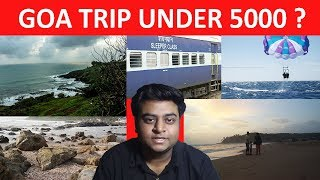 plan your goa trip under rs 5000 low budget full detail hindi