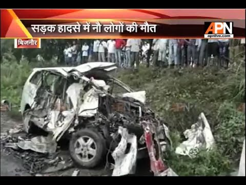 9 died in road accident in Bijnor (UP)