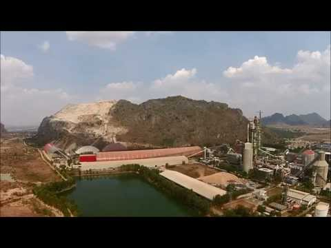 Kampot Cement (SCG) Quarry in Cambodia