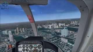 FSX Mission Tokyo Executive Transport 東京ヘリ秘密指令(flight simulator)
