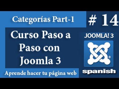 Que son las categorías en Joomla