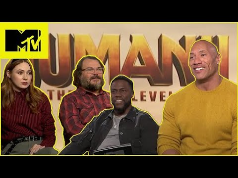 Dwayne Johnson & the Cast of 'Jumanji: The Next Level' Play 'Guess the Thirst Tweet' | MTV Movies