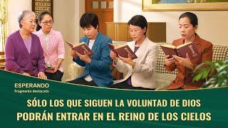 """Fragmento 3 de película evangélico """"Esperando"""": Sólo los que siguen la voluntad de Dios podrán entrar en el reino de los cielos"""