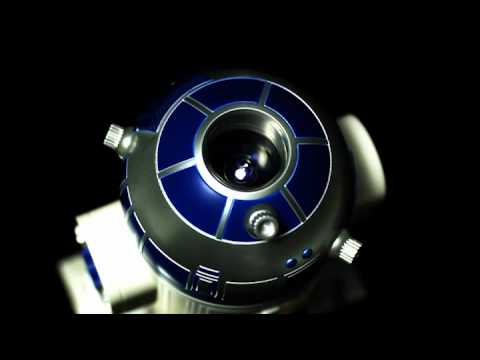 r2d2 homestar planetarium on home observatory, home star projectors, planetary projector, astronomy projector,
