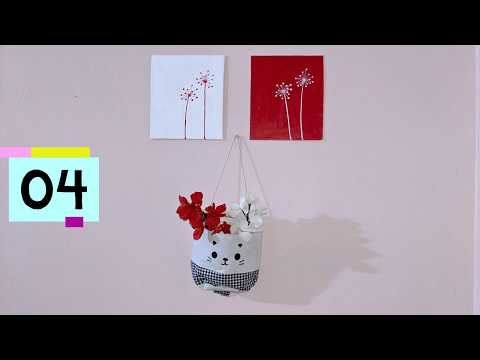 Easy Canvas Painting Ideas | DIY Canvas Painting | Wall Painting Design |  Wall Decoration Idea