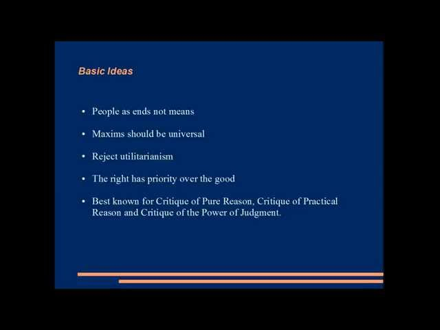 basic idea of utilitarianism