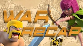 OneHive vs Clash With Ash :: War Recap :: Clash Of Clans
