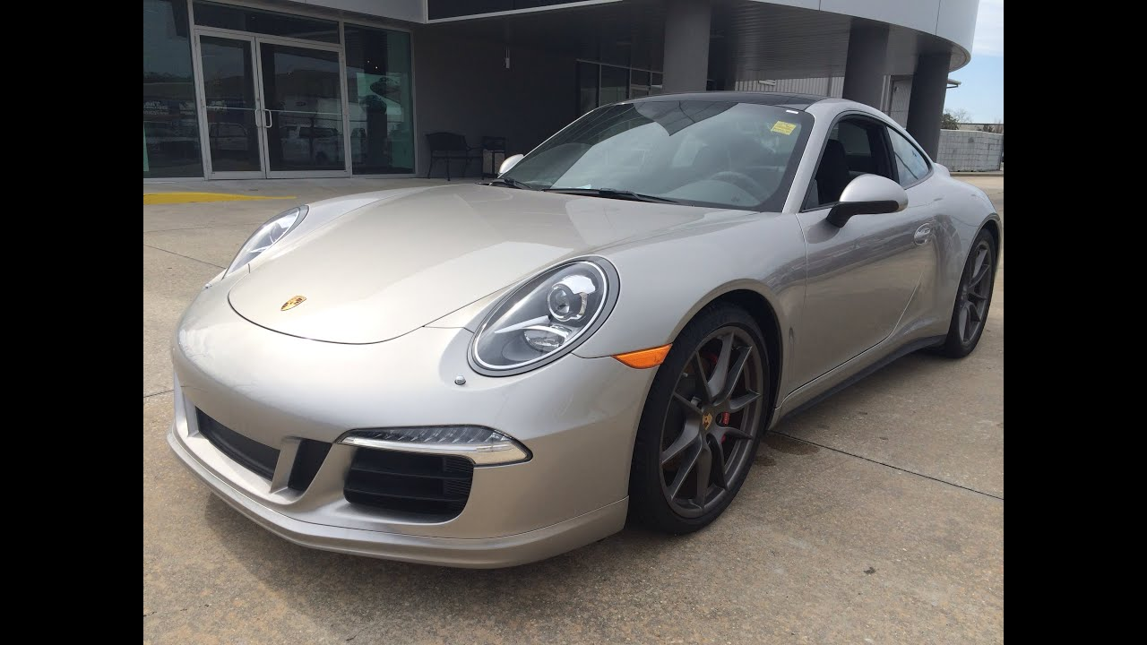 2014 porsche 911 carrera 4s exhaust start up and in depth review youtube
