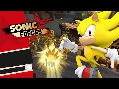 Sonic Forces [PC] - Modern Super Sonic Gameplay Showcase